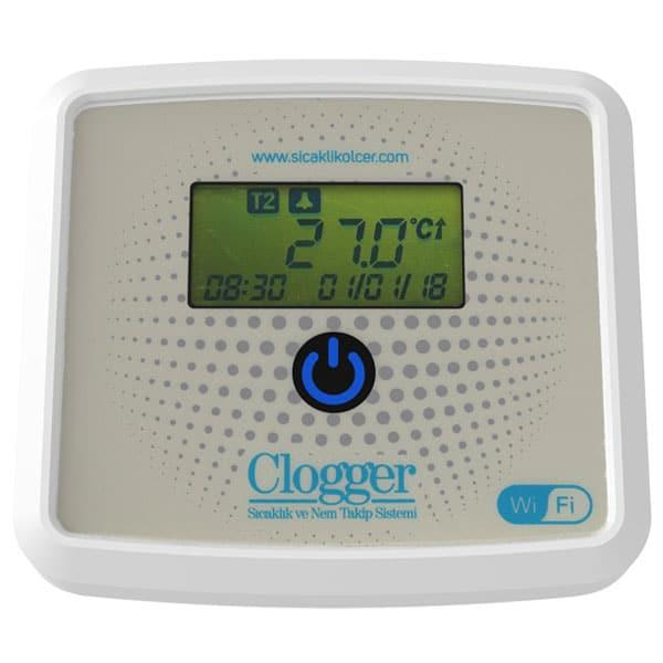 Clogger eczane sıcaklık ve nem ölçer sistemi