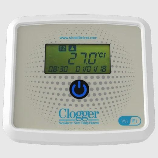 Clogger Sıcaklık ve Takip Sistemi Görsel 1